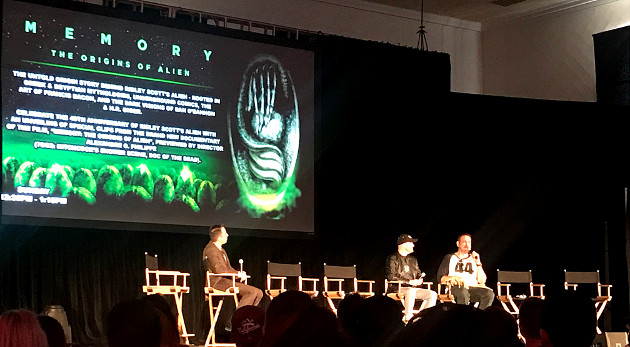 """Memory: The Origins of Alien"" Panel"