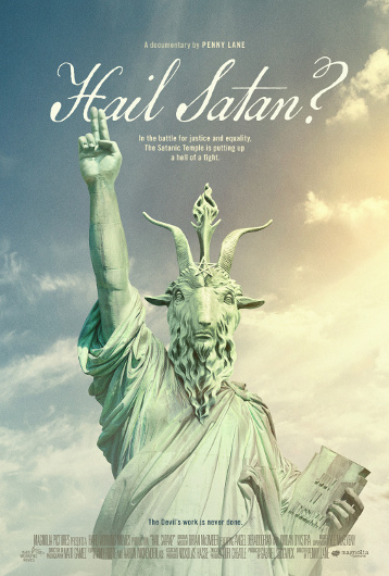 """Hail Satan?"" film poster (Photo courtesy of Magnolia Pictures)"