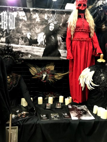 MM Fabrications Booth at Monsterpalooza