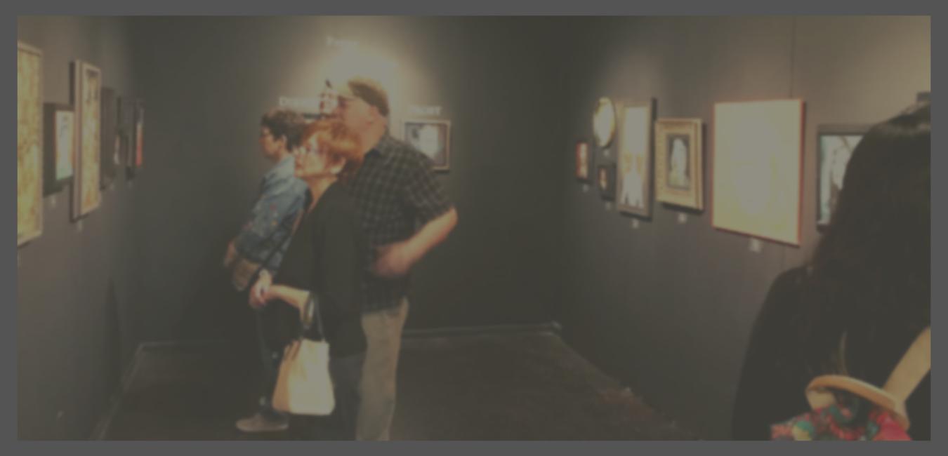 """""""Prone to Exaggeration"""" at The Dark Art Emporium"""