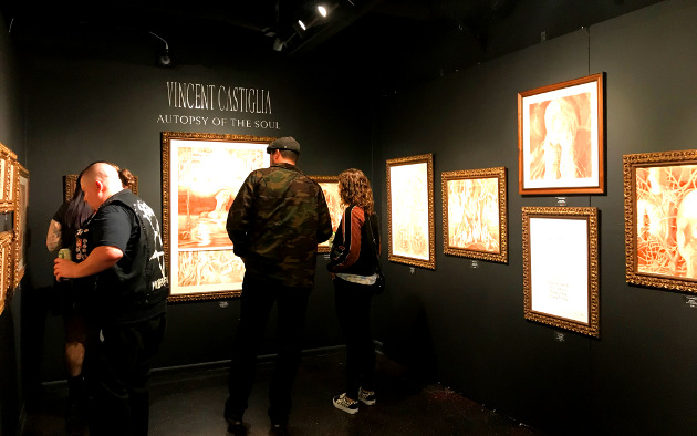 "Vincent Castiglia's ""Autopsy of the Soul"" at The Dark Art Emporium"