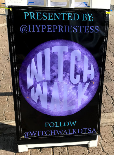 The Witch Walk presented by the Hype Priestess