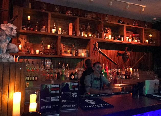 Spirit Lounge Indoor Bar