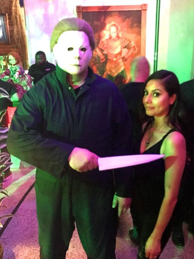 Photo with Michael Myers