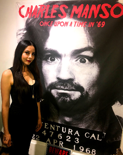Charles Manson Exhibit at Lethal Amounts
