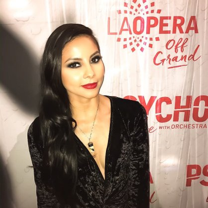 "At LA Opera Off Grand's screening of ""Psycho"" at The Theatre at Ace Hotel"