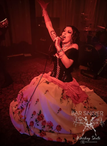 Singer Hannah of FIRA (Photo courtesy of Bar Sinister and Whiskey Shotz Photography)
