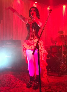 Metal band FIRA at Bar Sinister