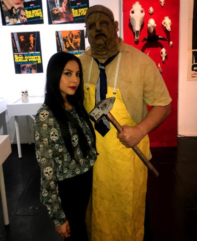 Photo with Leatherface