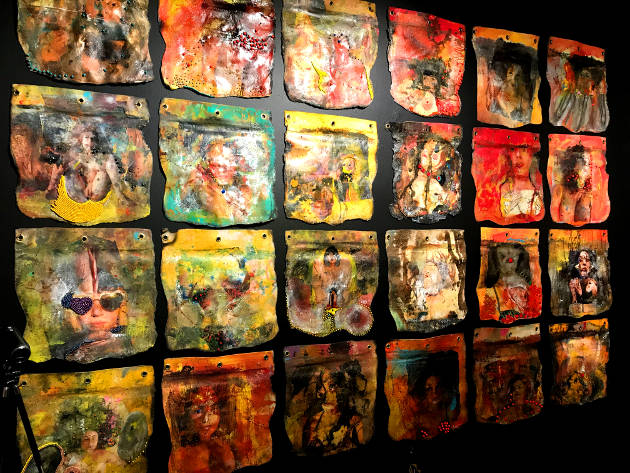 Steven Johnson Leyba's FIRE art exhibit