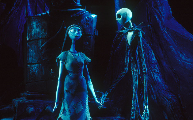 "Sally and Jack from ""The Nightmare Before Christmas"" (© Touchstone Pictures)"