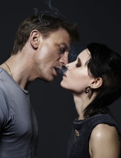 "Daniel Craig as Mikael Blomkvist and Rooney Mara as Lisbeth Salander in the American adaptation of ""The Girl with the Dragon Tattoo"" (© Columbia Pictures, Metro-Goldwyn-Mayer)"