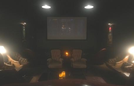 The Phantom Carriage screening room