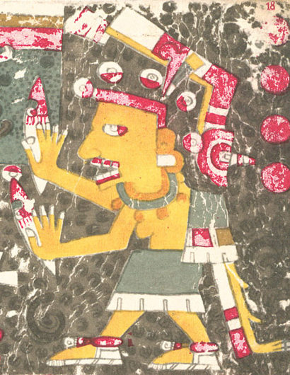 Aztec goddess of death Mictecacihuatl