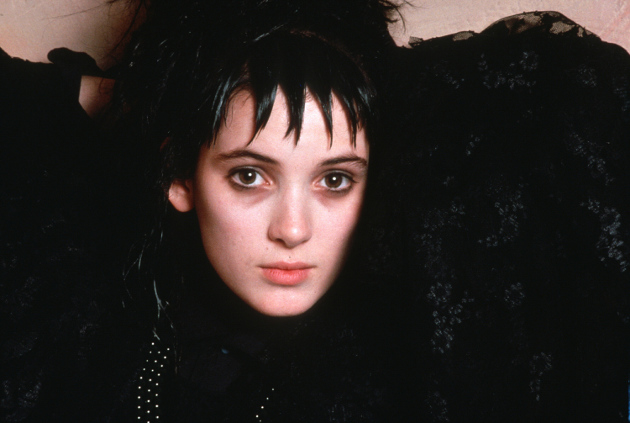 Winona Ryder as Lydia Deetz in Beetlejuice (© Warner Bros. Studios)