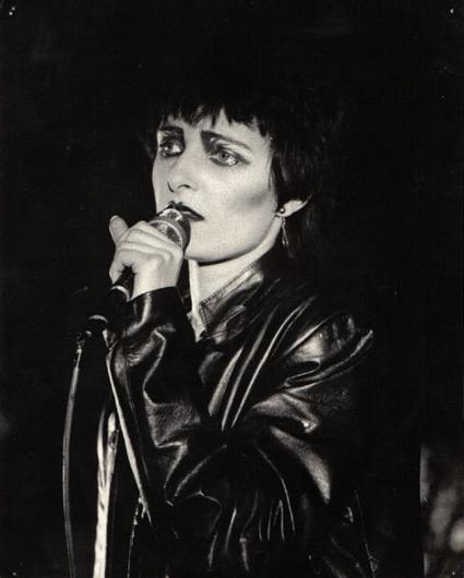 Singer Siouxsie Sioux