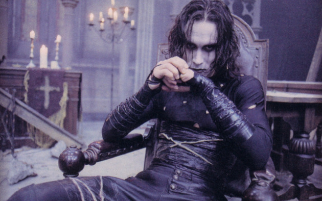Brandon Lee as Eric Draven (© Miramax Films)