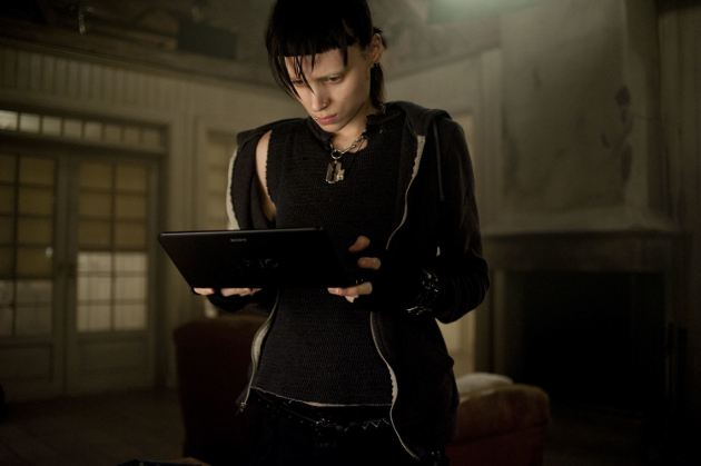 Rooney Mara as Lisbeth Salander in The Girl with the Dragon Tattoo (© Columbia Pictures & Metro-Goldwyn-Mayer)