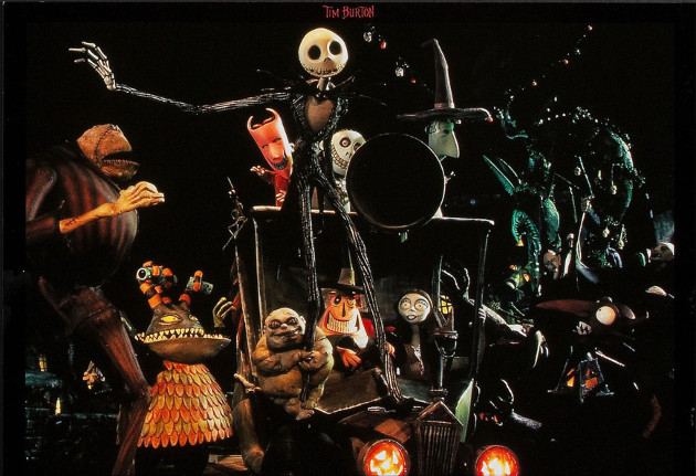 Tim Burton's The Nightmare Before Christmas (© Touchstone Pictures)