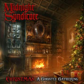 Midnight Syndicate's Christmas: A Ghostly Gathering album cover (Artwork by Pascal Casolari)