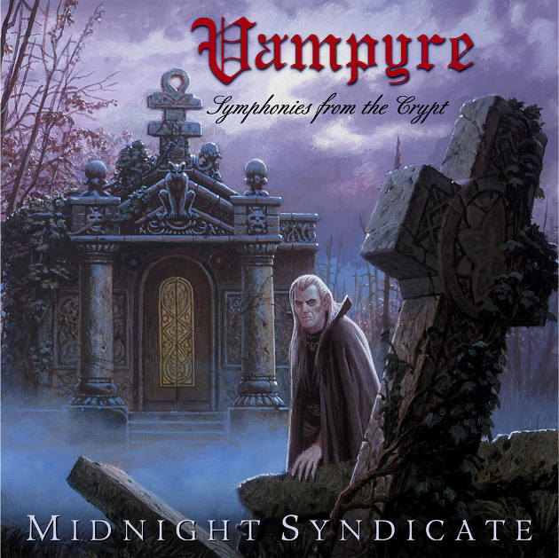 Vampyre: Symphonies from the Crypt album cover (Artwork by Keith Parkinson)