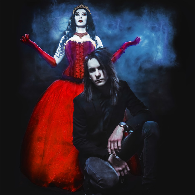 "Vocalist Hannah Fira and guitarist Michael ""Vette"" Rodd (Photo credit: FIRA)"