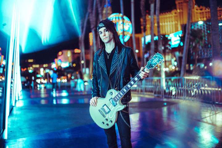 "FIRA guitarist Michael ""Vette"" Rodd"