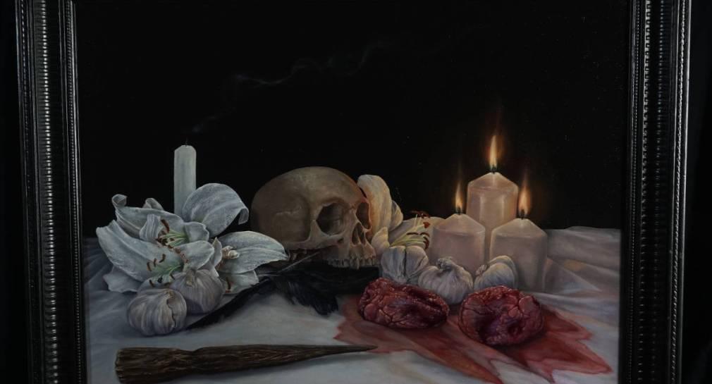 Untitled Vampire Still Life by Martin Darkside