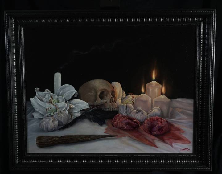 Untitled Vampire Still Life by Martin Darkside