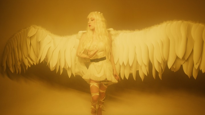 """Bara Hari in music video for """"Ugly on the Inside"""" (Photo credit: Sam Franco)"""