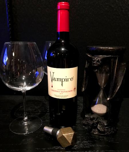 Vampire Cabernet Sauvignon Wine