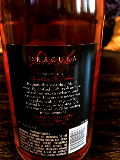 Dracula Sparkling Rosé